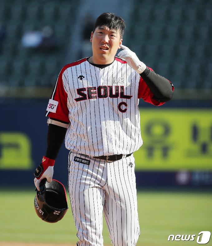 [사진] 김현수 '정말 안풀리네'