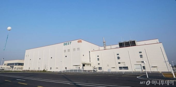 SK이노베이션 중국 창저우 배터리공장