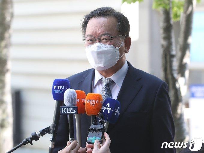 국무총리 후보자로 지명된 김부겸 전 행정안전부 장관./뉴스1 © News1 송원영 기자