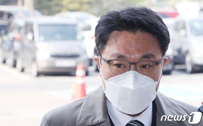 김진욱 고위공직자범죄수사처(공수처)장. 2021.4.15/뉴스1 © News1 조태형 기자
