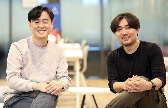 (왼쪽부터)안주형 미라지소프트 대표, 최민경 COO(최고운영책임자)/사진=이기범 기자