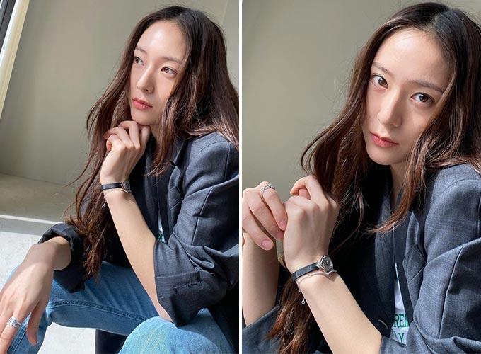 가수 겸 배우 정수정(크리스탈)/사진=정수정 인스타그램