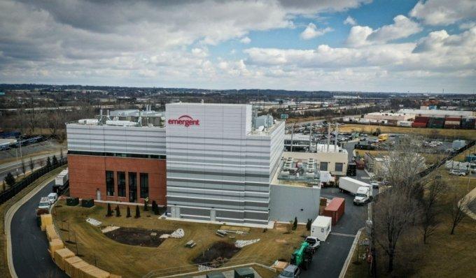 미국 메릴랜드주 볼티모어에 있는 이머전트 바이오솔루션스의 백신 제조공장/사진=로이터통신