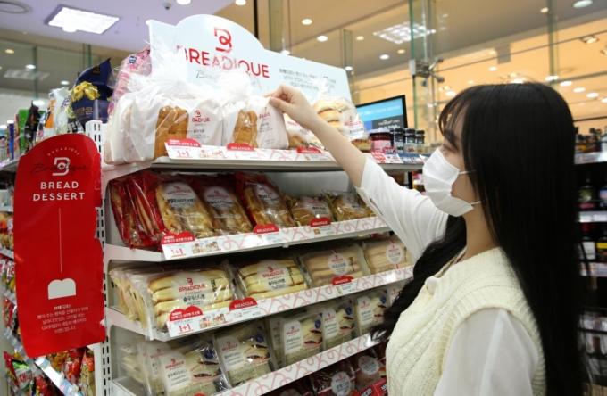 '프리미엄 빵' 통했다…GS리테일 '브레디크' 100일만에 510만개 판매