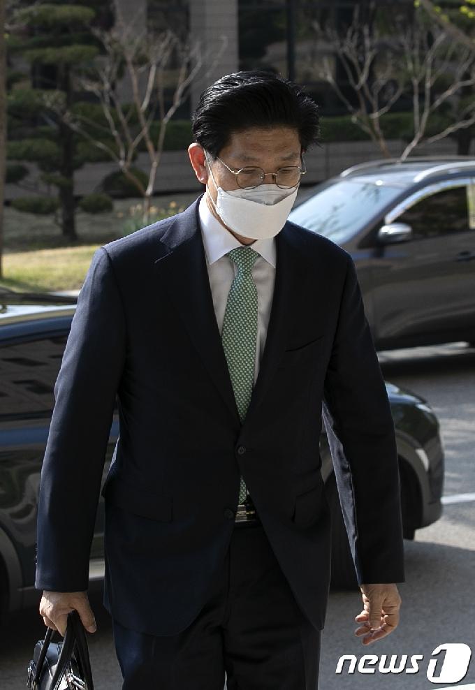 [사진] 출근하는 노형욱 후보자