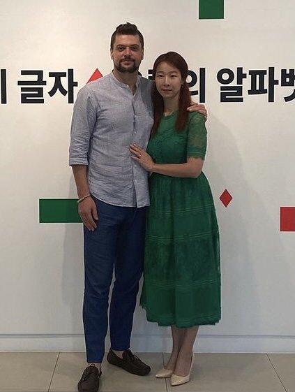 미카엘-박은희 부부 / 사진=미카엘 인스타그램