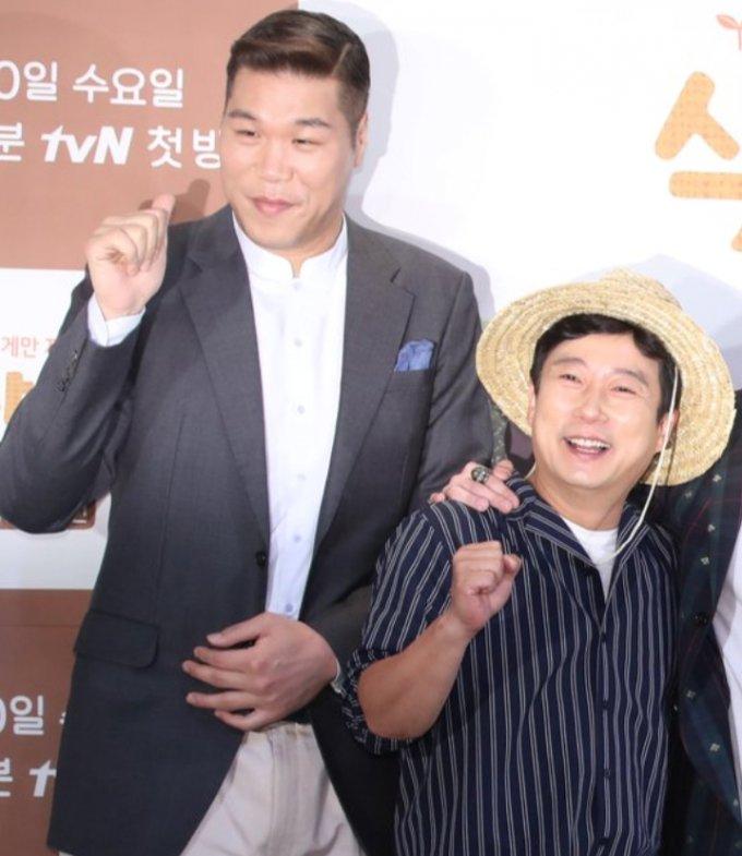 방송인 서장훈, 이수근(오른쪽)/사진=뉴스1