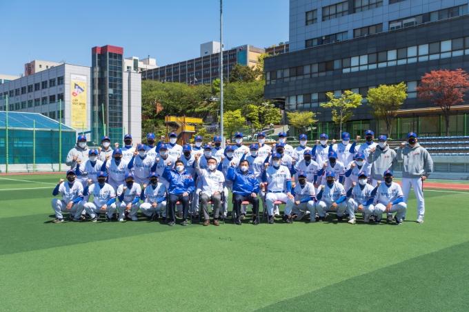동의과학대 야구부, '2021 KUSF 대학야구 U-리그' 승리