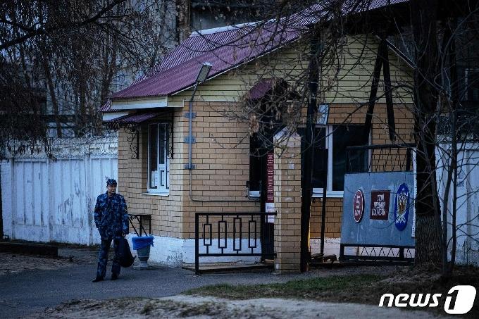 [사진] 러 야권운동가 나발니 이송된 블라디미르 3번 교도소