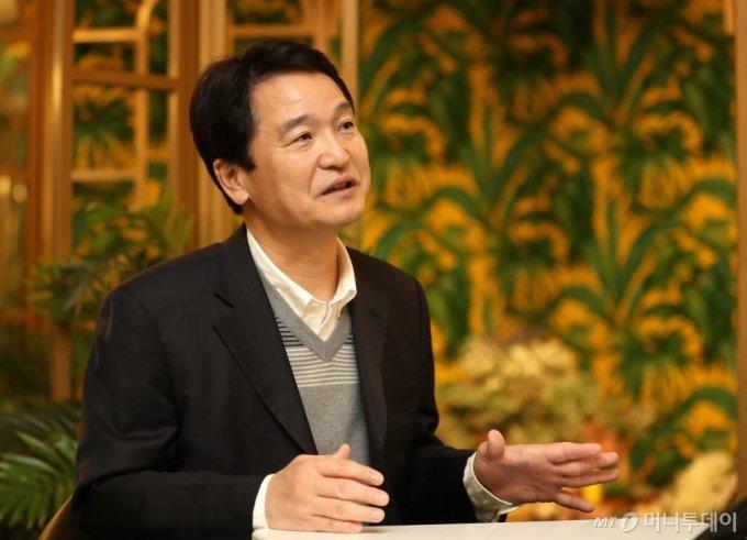 지난 14일 서울 여의도 '아쿠아플라넷 63'에서 만난 김경수 아쿠아플라넷 대표. /사진=이기범 기자 leekb@