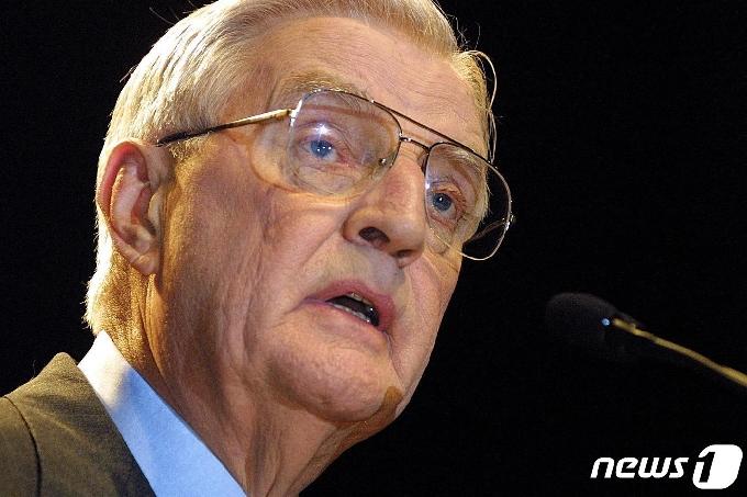 [사진] 93세로 별세한 월터 먼데일 전 미국 부통령