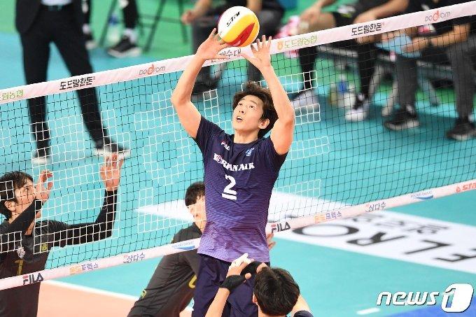 대한항공 주장 한선수. (한국배구연맹 제공) © 뉴스1