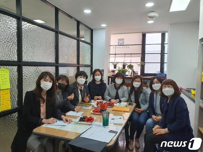 광주시교육청 정책연구동아리 '탄·다' 본격 활동