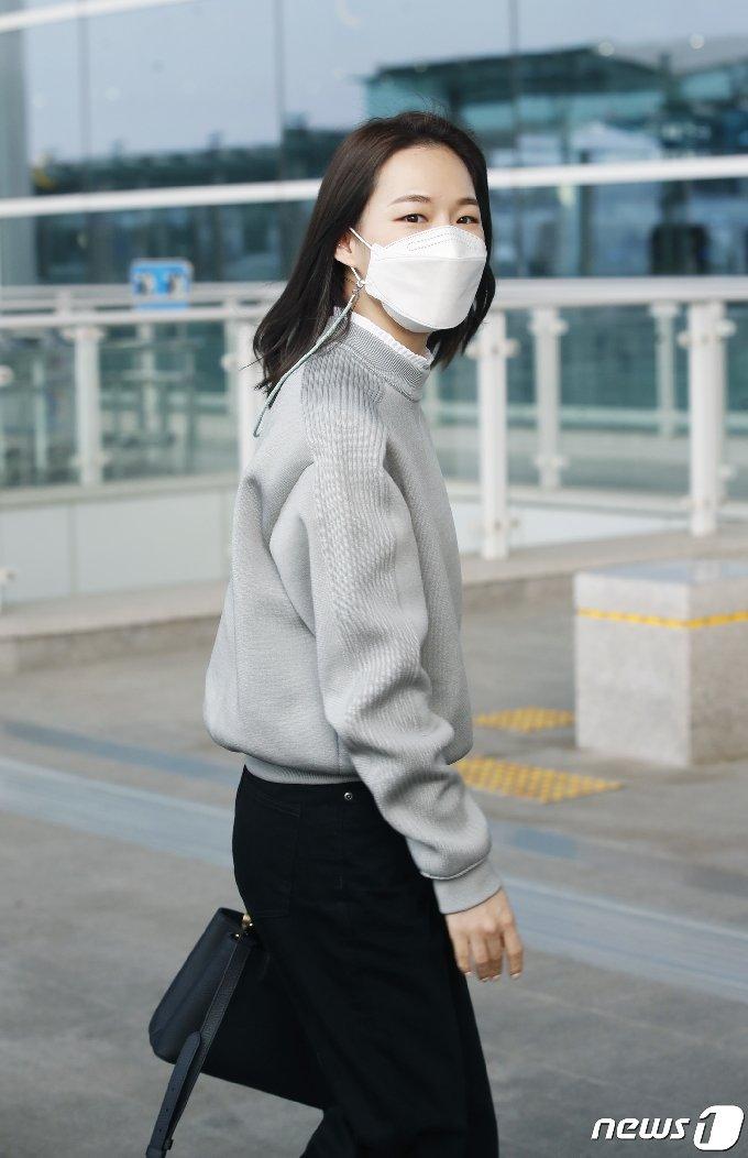 [사진] 한예리, 美 아카데미 잘 다녀올게요