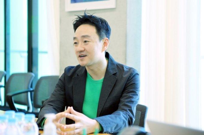 박상진 네이버 CFO/출처=블룸버그(네이버 제공 사진)