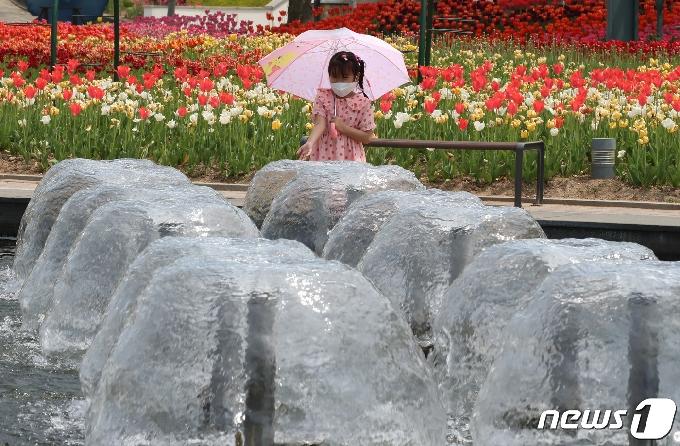 [사진] 4월에 찾아온 더위