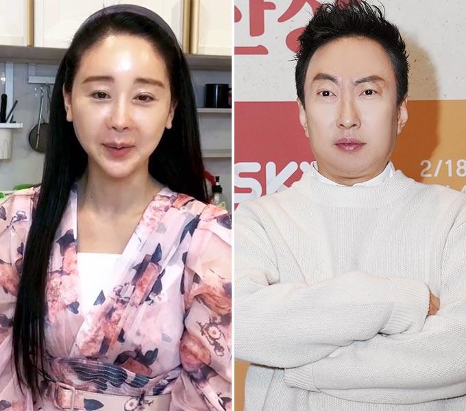 배우 함소원, 방송인 박명수/사진=함소원 인스타그램, SKY TV 제공