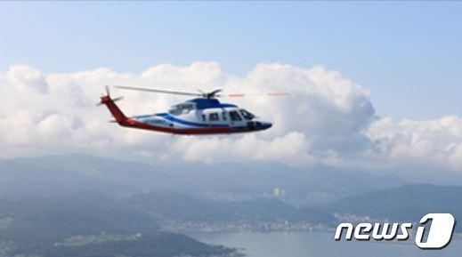 s-76+ 헬기 기종.(헬리코리아 홈페이지 갈무리).2021.4.21/© 뉴스1