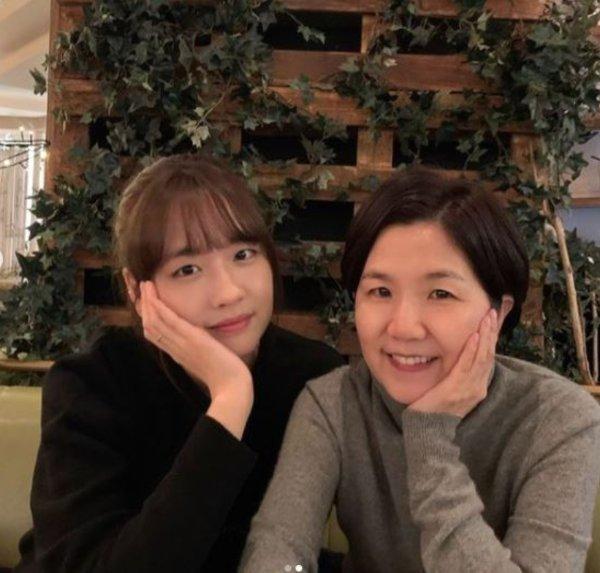 개그우먼 이성미와 그의 막내딸/사진=이성미 인스타그램