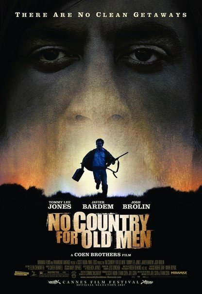 스콧 루딘이 제작한 영화 '노인을 위한 나라는 없다' 포스터 © 뉴스1