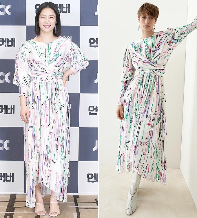 배우 김현주, 이자벨 마랑 2020 리조트 컬렉션/사진=JTBC 제공, 이자벨 마랑(Isabel Marant)