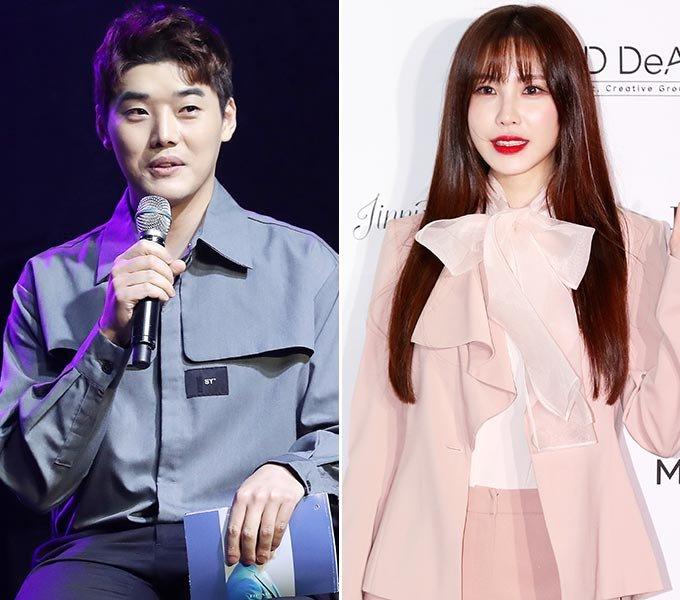 배우 권혁수, 가수 전효성/사진=머니투데이 DB