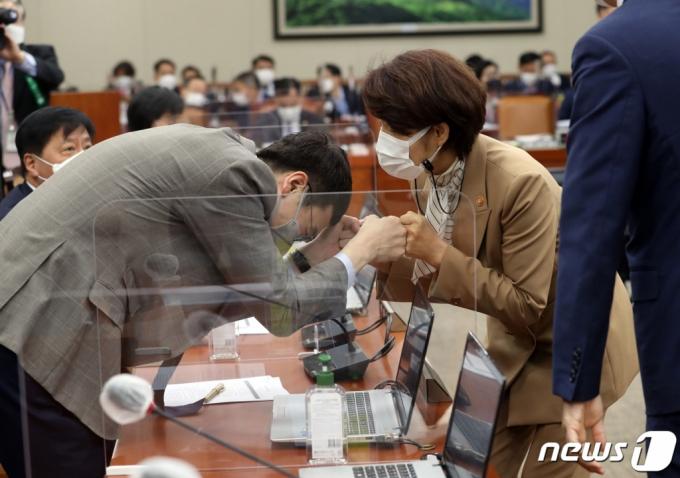 """초선 '파란' 김웅, '캐삭빵' 언급에 마포포럼 """"…"""""""