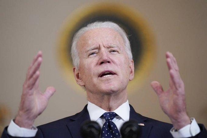 조 바이든 미국 대통령이 /AP=뉴시스