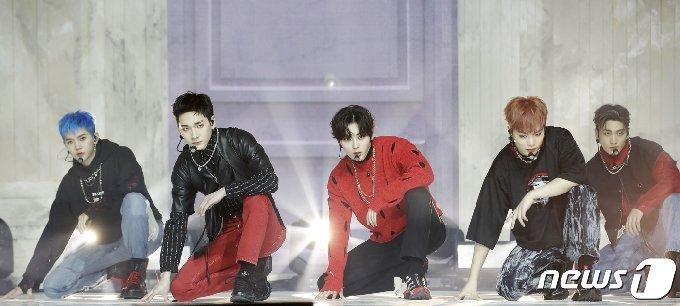 그룹 뉴이스트(NU'EST) © News1 권현진 기자