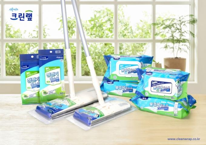 크린�N, 청소용품 시리즈 3종 출시