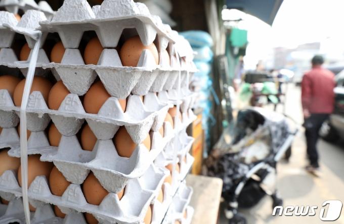 한판에 7400원 金계란...이번달 수입량 4000만개로 늘린다