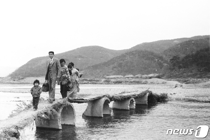 황룡강의 옛모습은?…28~30일 장성문화예술회관서 사진전