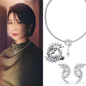 """김서형, '5.4억원' 다아아몬드 세트…""""극강의 럭셔리"""""""
