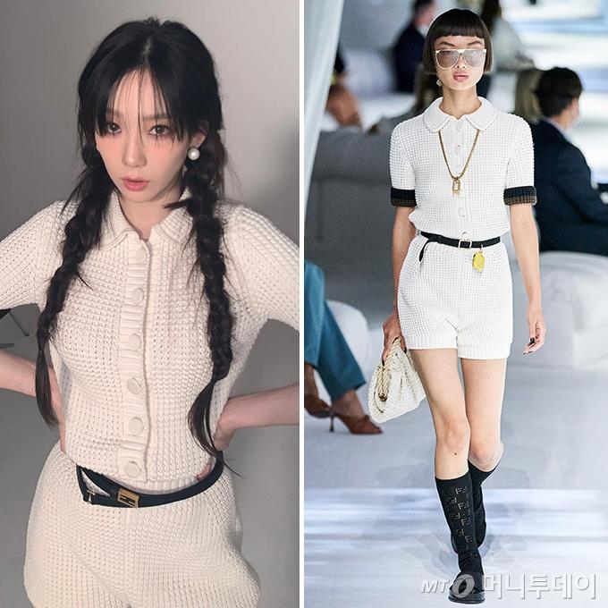 /사진=가수 태연 인스타그램, 펜디