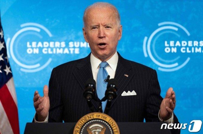 (워싱턴 AFP=뉴스1) 우동명 기자 = 조 바이든 미국 대통령