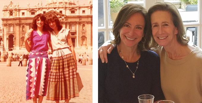 린다 켈시와 수잔 그라프 과거 사진 /사진=시스터&미 블로그 홈페이지