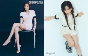 손담비 vs 태연, '149만원' 같은 옷 다른 느낌…
