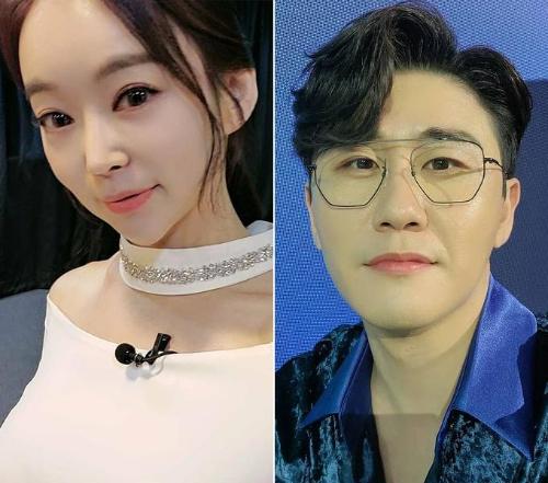 가수 윤희, 영탁/사진=윤희, 영탁 인스타그램