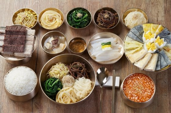 ▲제사를 올리지 않고 먹는 가짜 제삿밥, 이철우 도지사는 이 음식을 추천했다./사진=경상북도