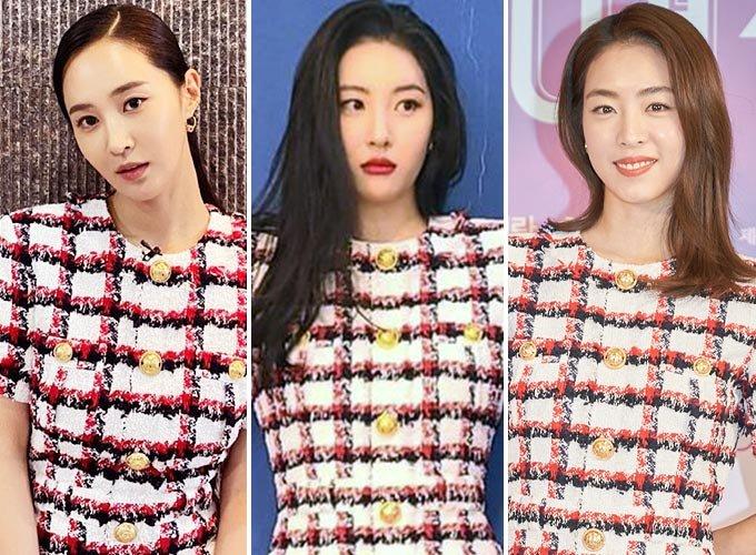 그룹 소녀시대 출신 배우 권유리, 가수 선미, 배우 이연희/사진=권유리, 선미 인스타그램, 스콘 제공