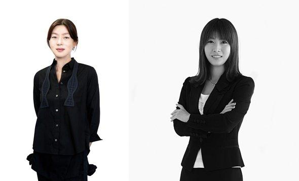 (왼쪽)김은혜 발란 부대표, (오른쪽) 민예홍 트렌비 최고전략책임자/사진=각사