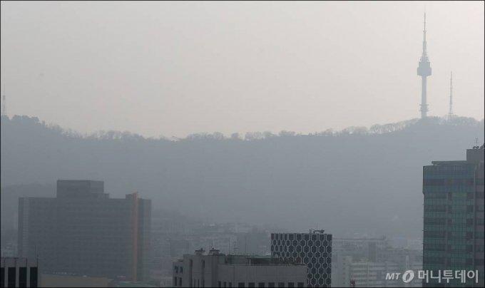 남산과 주변 건물들 /사진=김창현 기자 chmt@