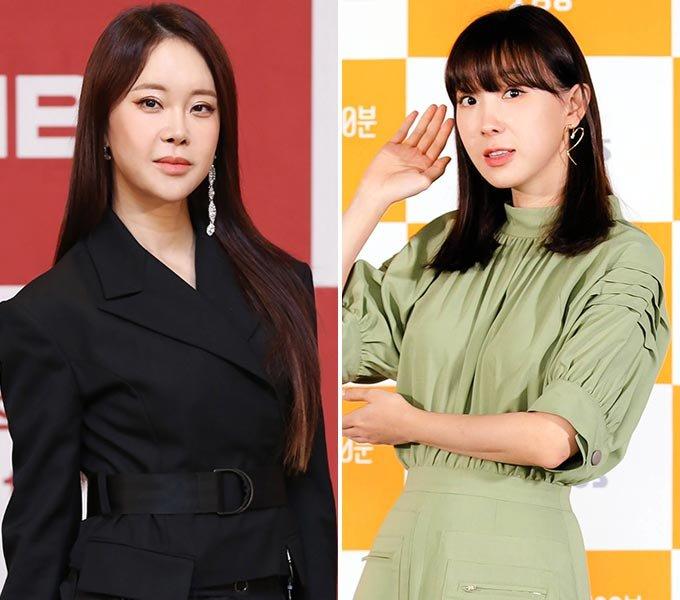 가수 백지영, 그룹 샵 출신 가수 이지혜/사진=MBN, SBS 제공