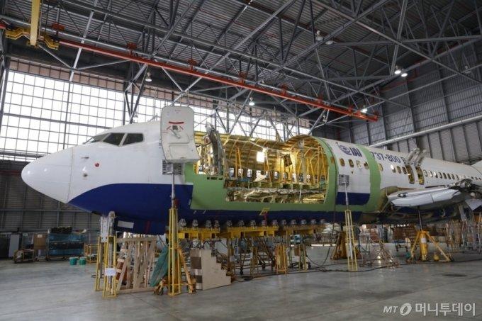 인천공항, 보잉777 화물 개조기 생산기지 된다