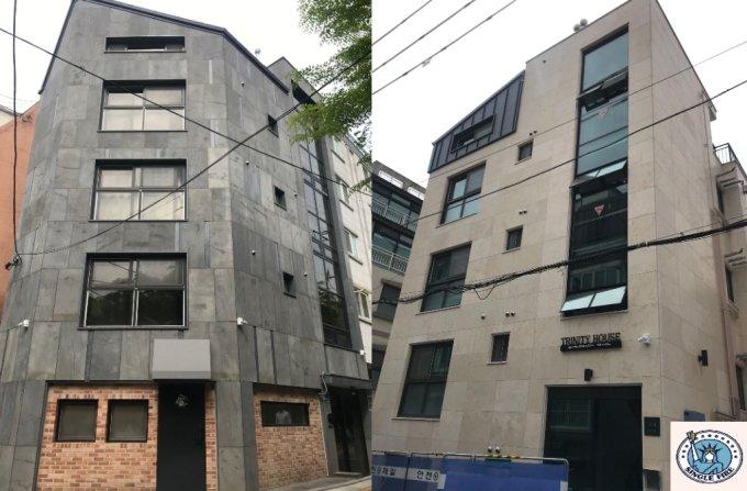 송량헌씨가 서울 은평구에 신축한 원룸건물 전경. /사진=싱글파이어