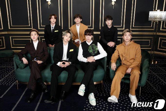 그룹 방탄소년단/뉴스1 © News1 김진환 기자