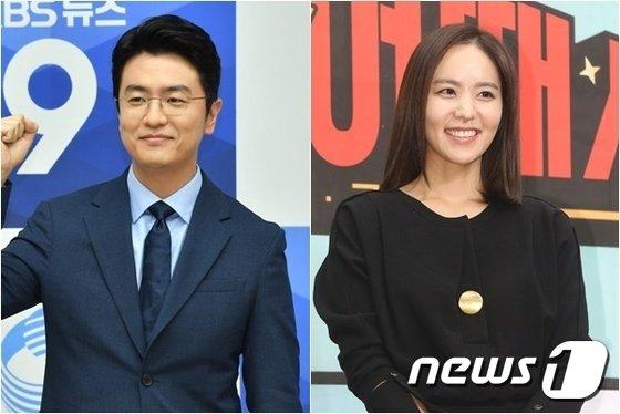 최동석 아나운서(왼쪽, KBS제공) 박지윤 / 뉴스1DB© 뉴스1