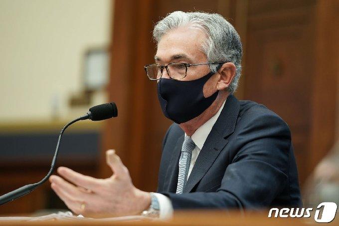 제롬 파월 미국 연방준비제도 의장. © AFP=뉴스1 © News1 우동명 기자