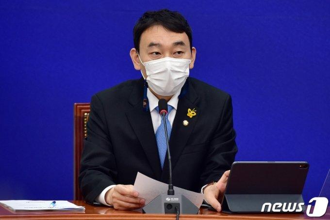 김용민 더불어민주당 최고위원 2021.5.3/뉴스1