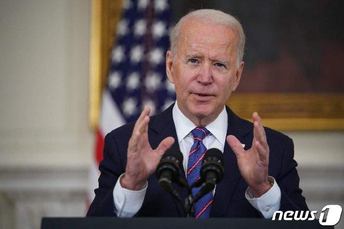 조 바이든 미국 대통령 <자료사진> © AFP=뉴스1